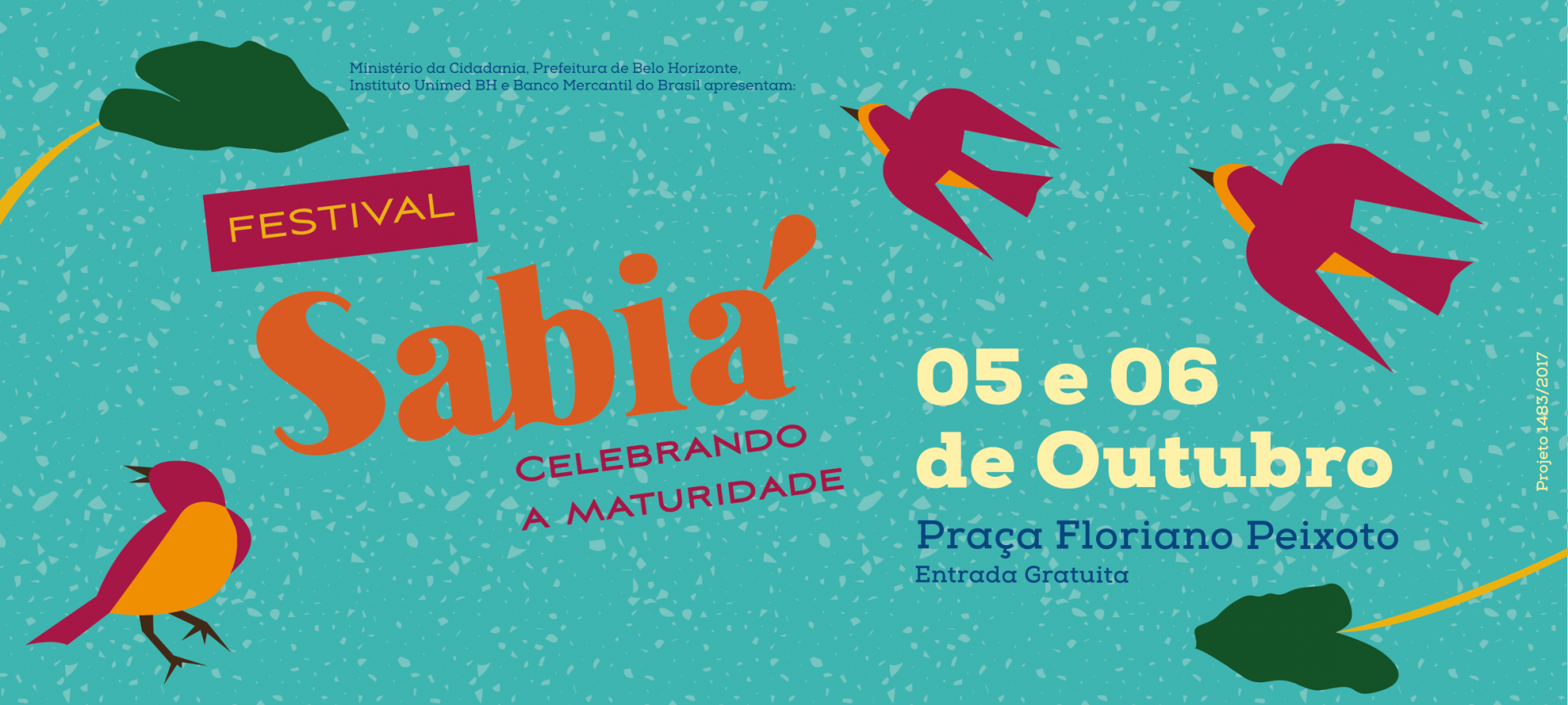 FESTIVAL SABIÁ | Celebrando a Maturidade